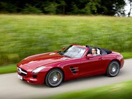 Mercedes-Benz SLS AMG Roadster: velká fotogalerie: titulní fotka