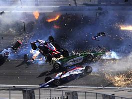 Las Vegas Indy 300: Zemřel Dan Wheldon: titulní fotka