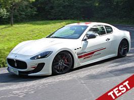 Test: Maserati GranTurismo MC Stradale: Břitva z Modeny: titulní fotka