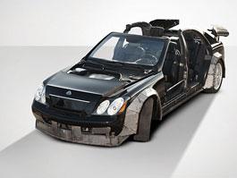 Rapery zničený Maybach jde do aukce za 1,2 milionu korun: titulní fotka