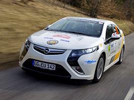 Opel Ampera vyhrál Rally Monte Carlo: titulní fotka