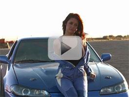 Melyssa Grace: driftující modelka: titulní fotka