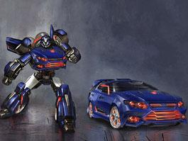 Ford Falcon XR6 jako nový Transformer Falcatron: titulní fotka