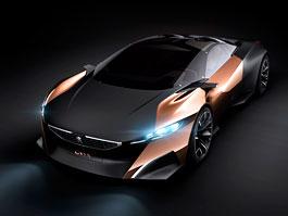 Peugeot Onyx: hybridní superauto s dieselovým V8: titulní fotka