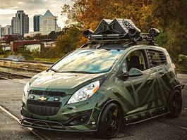 Enemy to Fashion Chevrolet Spark: vojenský speciál pro SEMA: titulní fotka