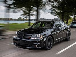 Dodge Blacktop: pakety pro Avenger, Challenger a Charger: titulní fotka