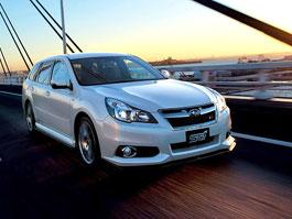 Subaru Legacy EyeSight tS: Trocha limitovaného stylu od STI: titulní fotka