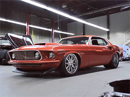 The Real Thing aneb 1969 Mustang Boss 494 od Bodie Stroud Industries: titulní fotka
