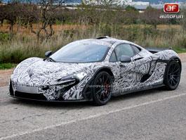 Spy photos: McLaren P1: titulní fotka