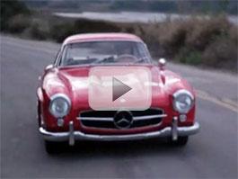 S Mercedesem 300 SL na nákupu aneb Jen se tak trochu projet: titulní fotka