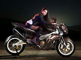 Vilner Stingray - přepracovaná Aprilia Tuono: titulní fotka