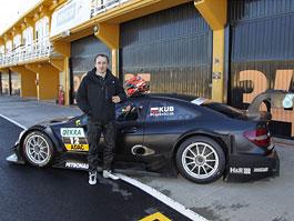 Robert Kubica testuje v DTM!: titulní fotka