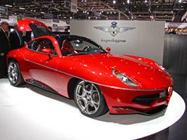 Carrozzeria Touring Superleggera Disco Volante: Z nehybného modelu produkční sportovec: titulní fotka