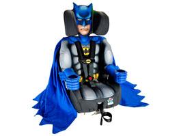 Dětská autosedačka pro malé Batmany a závodníky NASCAR: titulní fotka