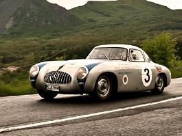 Mercedes-Benz se stal hlavním sponzorem Mille Miglia: titulní fotka