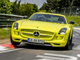 Mercedes SLS AMG Electric Drive: Na Ringu rychlý jako Panamera Turbo: titulní fotka