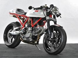Ducati Cafe Racer od Moto Brilliance: titulní fotka
