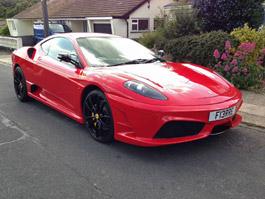 Ferrari F430 Scuderia... tak trochu...: titulní fotka