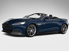 Aston Martin Vanquish Volante pro vánoční katalog Neiman Marcus: titulní fotka