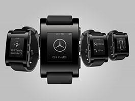 Mercedes-Benz předvádí hodinky pro komunikaci s autem: titulní fotka