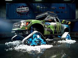 Ford Raptor Trax je novou hračkou Kena Blocka: titulní fotka