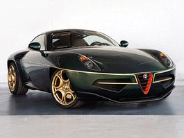 Alfa Romeo Disco Volante se v Ženevě oblékne do zelené a zlaté: titulní fotka