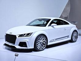 Audi TT quattro sport concept: 420 koní z pouhého dvoulitru: titulní fotka