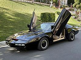KITT ze seriálu Knight Rider po Davidu Hasselhoffovi je na prodej: titulní fotka