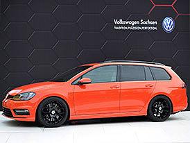 VW Golf Variant Youngster 5000: Kombi s 2.0 TSI (320 k) a lakem z Aventadoru: titulní fotka