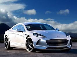Aston Martin Rapide: Možná podoba druhé generace supersportovního sedanu: titulní fotka