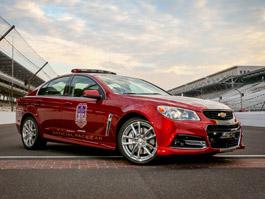 Chevrolet SS jako pace car v Indianapolis: titulní fotka