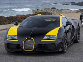 Bugatti Veyron One of One: Černožlutý speciál místo Elišky: titulní fotka