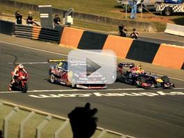 Video: Formule vs. supercar vs. Honda Fireblade, nechybí ani James May: titulní fotka
