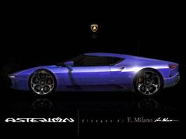 Lamborghini Asterión: Možná podoba vznikla z oficiální upoutávky: titulní fotka