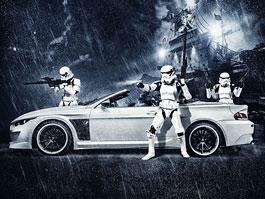 Vilner se spojil s Darth Vaderem a výsledkem je tuning pro BMW 6 Convertible: titulní fotka
