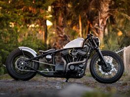 Harley Davidson Sportster od Matta Walda: titulní fotka