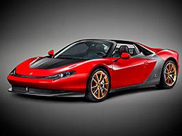 Ferrari Sergio: Sériový vůz na prvních snímcích, nezbyl už ani jeden: titulní fotka