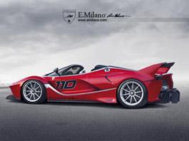 Ferrari FXX K Spider: Okruhové LaFerrari nahoře bez: titulní fotka