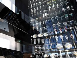 Třetina ukradených trofejí Red Bullu se našla. Některé jsou poničené.: titulní fotka