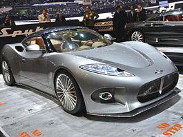 Spyker unikl bankrotu. Chce vyrábět elektromobily.: titulní fotka