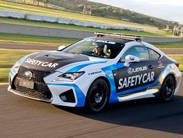 Lexus RC F: Nově jako safety car: titulní fotka