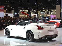 Nissan 370Z Nismo Roadster zatím jen jako koncept: titulní fotka