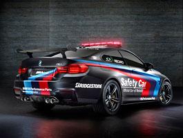 BMW M4 MotoGP Safety Car 2015 představeno, má inovativní vstřikování... vody: titulní fotka