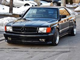 Mercedes-Benz 500 SEC AMG 6.0 Breiteversion: Širokánská hvězda k mání na eBay: titulní fotka