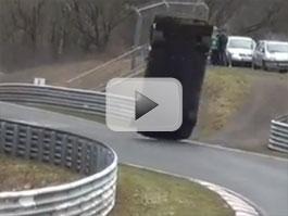 Hrozivá havárie Nissanu GT-R na Ringu: titulní fotka