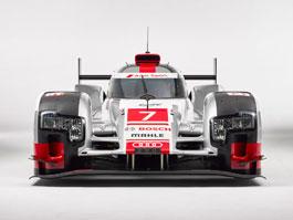 Audi upravuje aerodynamiku R18 e-tron quattro: titulní fotka