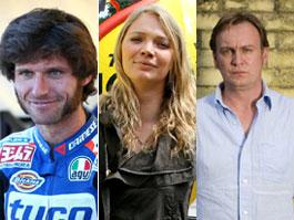 Noví moderátoři Top Gearu? Motorkář, herec a modelka: titulní fotka