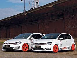 VW Golf a Polo GTI HG-Motorsport: Hvězdy ostrých hatchů: titulní fotka