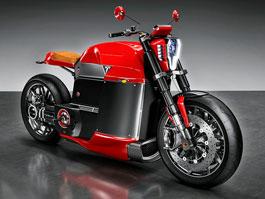 Tesla Model M: Vize elektrické motorky pro Elona Muska: titulní fotka