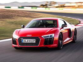 Za volantem: Audi R8: titulní fotka